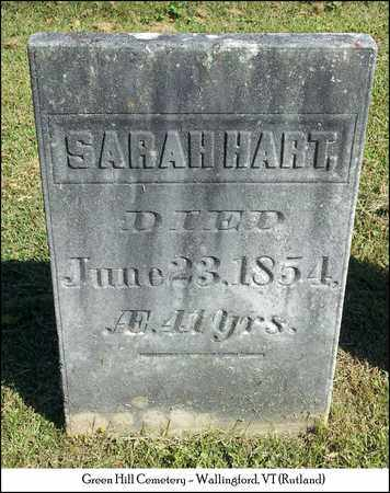 HART, SARAH - Rutland County, Vermont | SARAH HART - Vermont Gravestone Photos