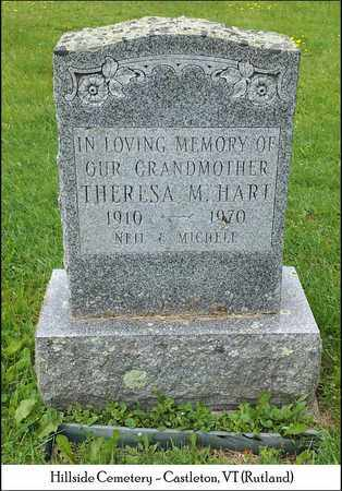 HART, THERESA M. - Rutland County, Vermont | THERESA M. HART - Vermont Gravestone Photos