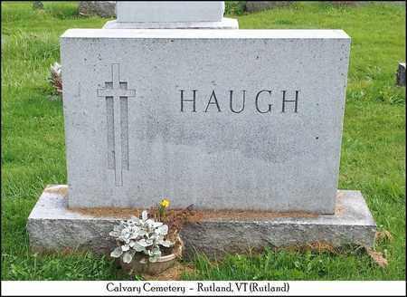 HAUGH, FAMILY MARKER - Rutland County, Vermont | FAMILY MARKER HAUGH - Vermont Gravestone Photos