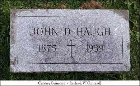 HAUGH, JOHN DOMINIC - Rutland County, Vermont | JOHN DOMINIC HAUGH - Vermont Gravestone Photos