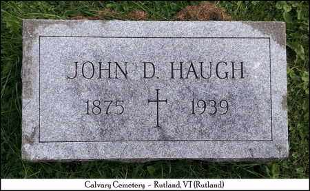 HAUGH, JOHN DOMINIC - Rutland County, Vermont | JOHN DOMINIC HAUGH - Vermont Gravestone Photos