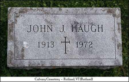 HAUGH, JOHN J. - Rutland County, Vermont | JOHN J. HAUGH - Vermont Gravestone Photos