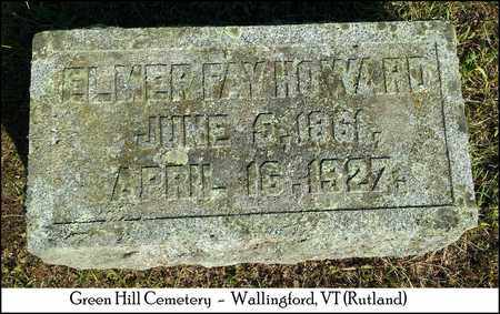 HOWARD, ELMER FAY - Rutland County, Vermont | ELMER FAY HOWARD - Vermont Gravestone Photos