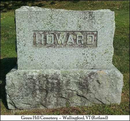 HOWARD, ELMER & ANNIE - Rutland County, Vermont   ELMER & ANNIE HOWARD - Vermont Gravestone Photos