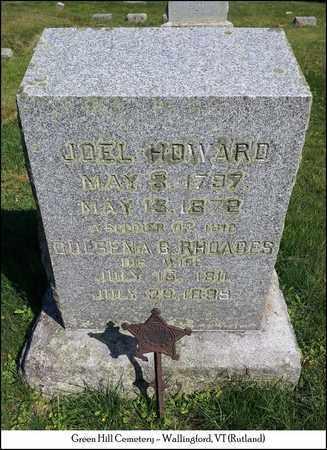 HOWARD (VETERAN 1812), JOEL - Rutland County, Vermont | JOEL HOWARD (VETERAN 1812) - Vermont Gravestone Photos