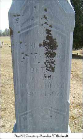 HUMPHREY, THOMAS P. - Rutland County, Vermont | THOMAS P. HUMPHREY - Vermont Gravestone Photos