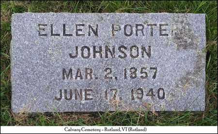 JOHNSON, ELLEN - Rutland County, Vermont   ELLEN JOHNSON - Vermont Gravestone Photos