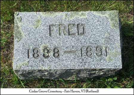 JUCKET, FRED - Rutland County, Vermont | FRED JUCKET - Vermont Gravestone Photos