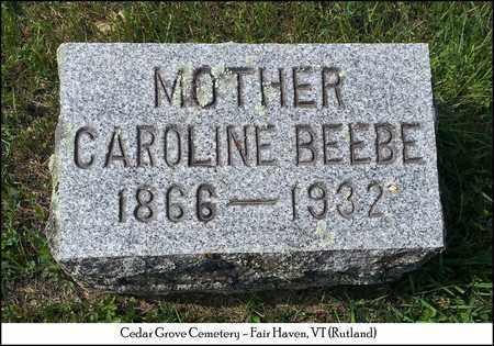 BEEBE JUCKETT, CAROLINE - Rutland County, Vermont   CAROLINE BEEBE JUCKETT - Vermont Gravestone Photos