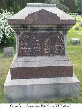 KINSELLA, PATRICK F. - Rutland County, Vermont | PATRICK F. KINSELLA - Vermont Gravestone Photos