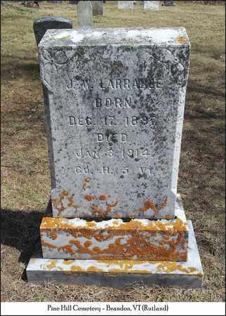 LARRABEE (VETERAN UNION), J. W - Rutland County, Vermont | J. W LARRABEE (VETERAN UNION) - Vermont Gravestone Photos