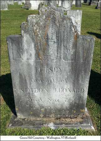LEONARD, BETSEY - Rutland County, Vermont | BETSEY LEONARD - Vermont Gravestone Photos