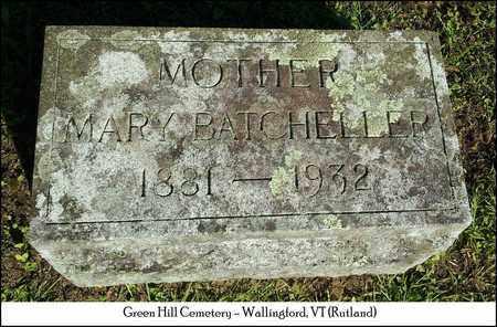 BATCHELLER MARSHALL, MARY WALDO - Rutland County, Vermont | MARY WALDO BATCHELLER MARSHALL - Vermont Gravestone Photos