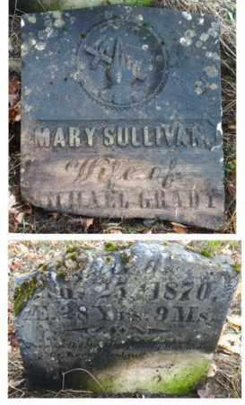 SULLIVAN MARY, GRADY - Rutland County, Vermont   GRADY SULLIVAN MARY - Vermont Gravestone Photos
