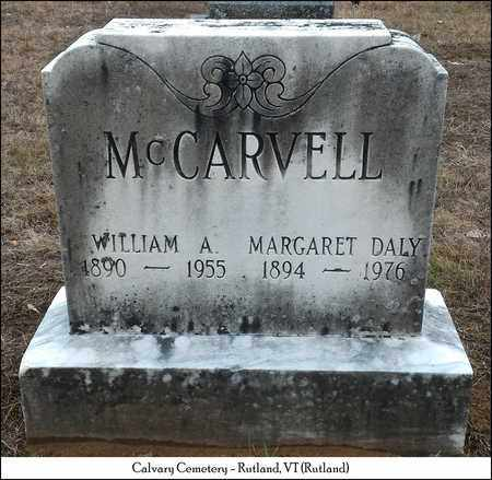 DALY MCCARVELL, MARGARET - Rutland County, Vermont | MARGARET DALY MCCARVELL - Vermont Gravestone Photos