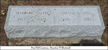 TARBLE MERRILL, MARGORIE - Rutland County, Vermont | MARGORIE TARBLE MERRILL - Vermont Gravestone Photos