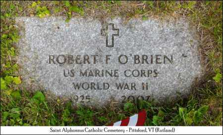 O'BRIEN, ROBERT F. - Rutland County, Vermont | ROBERT F. O'BRIEN - Vermont Gravestone Photos