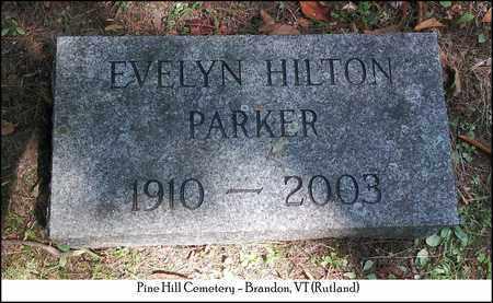 PARKER, EVELYN - Rutland County, Vermont | EVELYN PARKER - Vermont Gravestone Photos