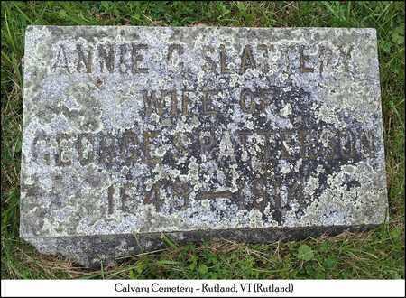 PATTERSON, ANNIE C. - Rutland County, Vermont   ANNIE C. PATTERSON - Vermont Gravestone Photos