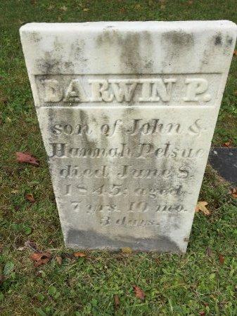 PELSUE, DARWIN P. - Rutland County, Vermont | DARWIN P. PELSUE - Vermont Gravestone Photos