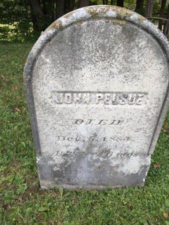 PELSUE, JOHN - Rutland County, Vermont   JOHN PELSUE - Vermont Gravestone Photos
