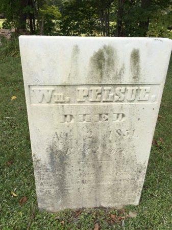 PELSUE, WILLIAM - Rutland County, Vermont | WILLIAM PELSUE - Vermont Gravestone Photos