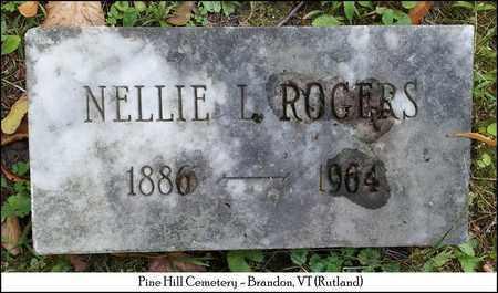 ROGERS, NELLIE L. - Rutland County, Vermont   NELLIE L. ROGERS - Vermont Gravestone Photos