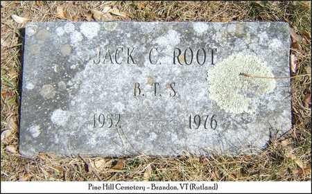 ROOT, JACK C - Rutland County, Vermont   JACK C ROOT - Vermont Gravestone Photos