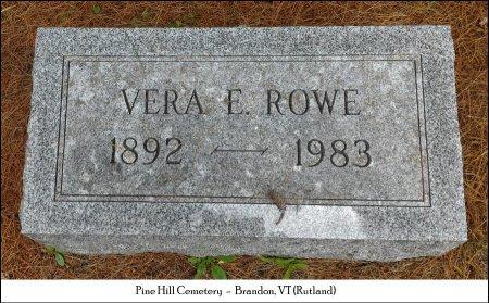 ROWE, VERA A. - Rutland County, Vermont | VERA A. ROWE - Vermont Gravestone Photos