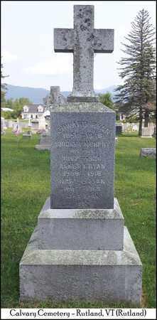 MURPHY RYAN, BRIDGET - Rutland County, Vermont | BRIDGET MURPHY RYAN - Vermont Gravestone Photos