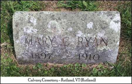RYAN, MARY C. - Rutland County, Vermont | MARY C. RYAN - Vermont Gravestone Photos