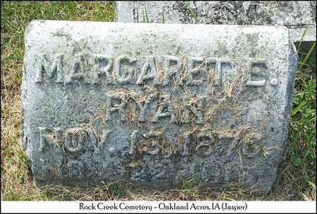 RYAN, MARGARET ELIZABETH - Rutland County, Vermont | MARGARET ELIZABETH RYAN - Vermont Gravestone Photos