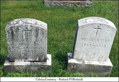 SULLIVAN RYAN, JULIA E. - Rutland County, Vermont   JULIA E. SULLIVAN RYAN - Vermont Gravestone Photos