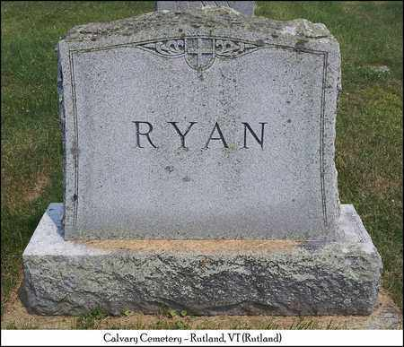 RYAN, WILLIAM & JULIA - Rutland County, Vermont | WILLIAM & JULIA RYAN - Vermont Gravestone Photos