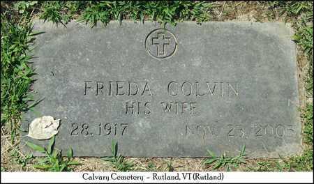 COLVIN SHANAHAN, FRIEDA L. - Rutland County, Vermont | FRIEDA L. COLVIN SHANAHAN - Vermont Gravestone Photos