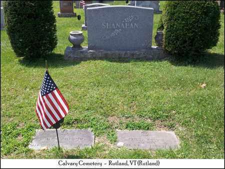 SHANAHAN, JAMES JOSEPH - Rutland County, Vermont   JAMES JOSEPH SHANAHAN - Vermont Gravestone Photos