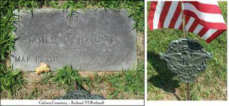 SHANAHAN (VETERAN WWII), JAMES JOSEPH - Rutland County, Vermont | JAMES JOSEPH SHANAHAN (VETERAN WWII) - Vermont Gravestone Photos