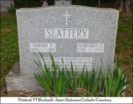 SLATTERY, EDWARD P. - Rutland County, Vermont   EDWARD P. SLATTERY - Vermont Gravestone Photos
