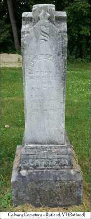SLATTERY, JOHN E. - Rutland County, Vermont   JOHN E. SLATTERY - Vermont Gravestone Photos