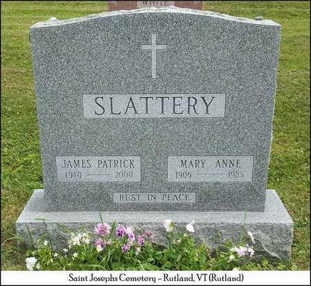 SLATTERY, JAMES PATRICK - Rutland County, Vermont | JAMES PATRICK SLATTERY - Vermont Gravestone Photos