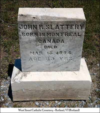 SLATTERY, JOHN RODERICK - Rutland County, Vermont | JOHN RODERICK SLATTERY - Vermont Gravestone Photos