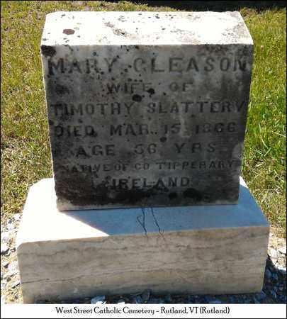 SLATTERY, MARY - Rutland County, Vermont | MARY SLATTERY - Vermont Gravestone Photos