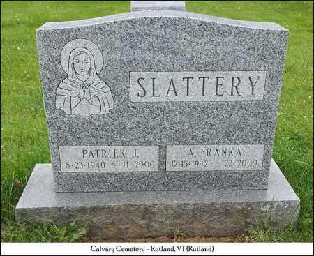 SLATTERY, PATRICK JOSEPH - Rutland County, Vermont | PATRICK JOSEPH SLATTERY - Vermont Gravestone Photos