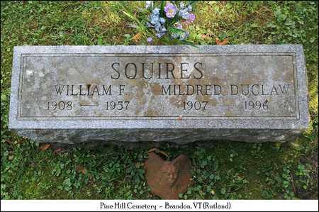 SQUIRRES, MILDRED - Rutland County, Vermont | MILDRED SQUIRRES - Vermont Gravestone Photos