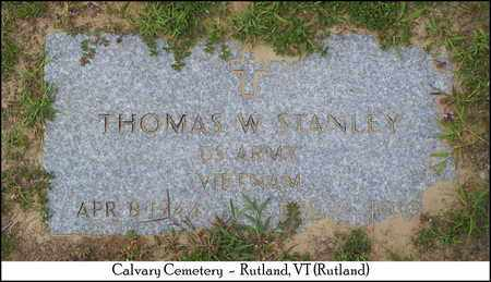 STANLEY (VETERAN VIET), THOMAS W. - Rutland County, Vermont   THOMAS W. STANLEY (VETERAN VIET) - Vermont Gravestone Photos