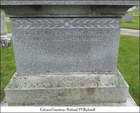 SWEENEY, MARGARET CATHERINE - Rutland County, Vermont   MARGARET CATHERINE SWEENEY - Vermont Gravestone Photos