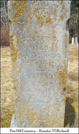 TICE, LEISTER B. - Rutland County, Vermont | LEISTER B. TICE - Vermont Gravestone Photos