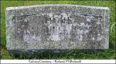 TIGHE, WINIFRED M. - Rutland County, Vermont | WINIFRED M. TIGHE - Vermont Gravestone Photos