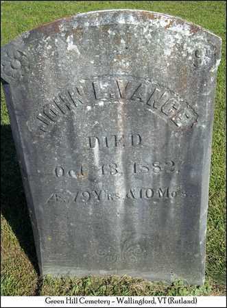 VANCE, JOHN L. - Rutland County, Vermont   JOHN L. VANCE - Vermont Gravestone Photos