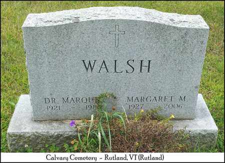 WALSH, DR. MARQUIS - Rutland County, Vermont | DR. MARQUIS WALSH - Vermont Gravestone Photos